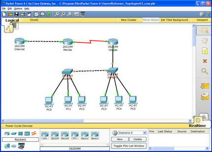 Cisco Packet Tracer 5.2 en Español.