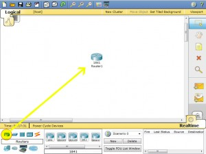 Packet Tracer Router Configuration